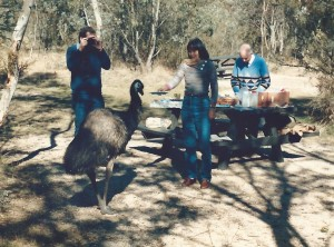 Peter, Jeannie and emu2